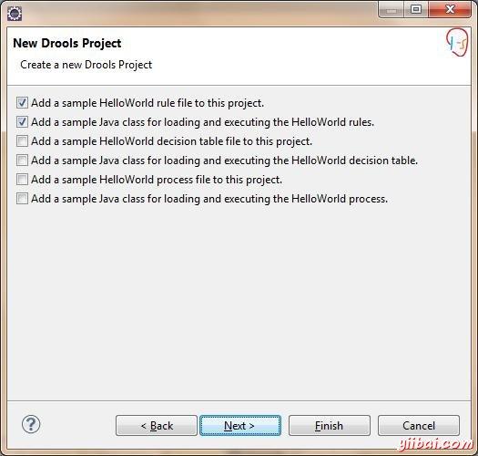 New Drools Project