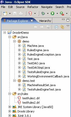 导入到工作区中的示例程序